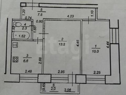 Продажа двухкомнатной квартиры на Центральной улице, 14ка в Уфе, Купить квартиру в Уфе по недорогой цене, ID объекта - 320177887 - Фото 1