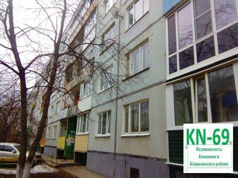 Однушка улучшенной планировки по доступной цене, Купить квартиру в Конаково по недорогой цене, ID объекта - 318263841 - Фото 1
