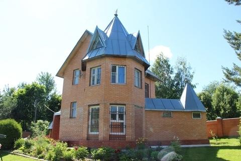 Продаю дом, земельный участок 13 соток в д. Скулино на первой линии от - Фото 1