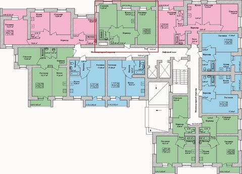 2х-комнатная квартира в Брагино(56м2) - Фото 5