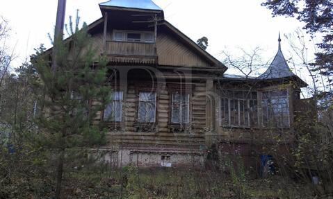 Дом из бревна 90 м2, на участке 9 соток, Ярославское шоссе, 14 км от . - Фото 2