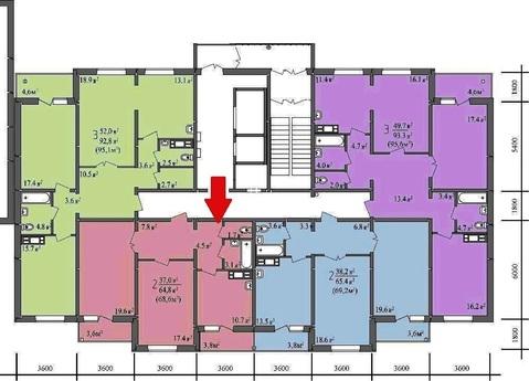 Двухкомнатная квартира на Яблочкина 10а - Фото 1