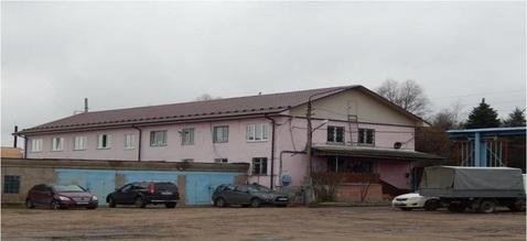 Производственно складские помещения с земельным участком 1.7 Га - Фото 1