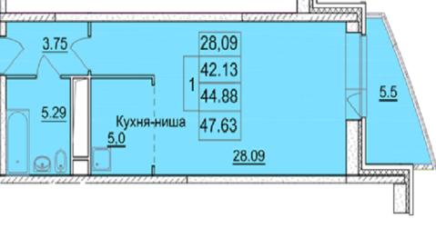 Однокомнатная квартира в п. Воскресенское (Новая Москва) - Фото 4
