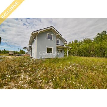 Продажа дома 120 м кв. на участке 10 соток в д. Бесовец, Речное-2 - Фото 1