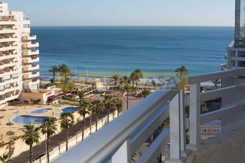 Апартаменты в Кальпе на пляже la Fossa с видом на море - Фото 1