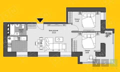 Продается квартира г.Москва, Проспект Мира, Купить квартиру в Москве по недорогой цене, ID объекта - 323166985 - Фото 1