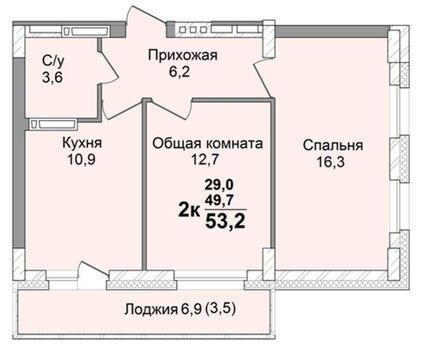 """Новая квартира в Ленинском районе г. Кемерово, ЖК """"Крылья"""" - Фото 2"""