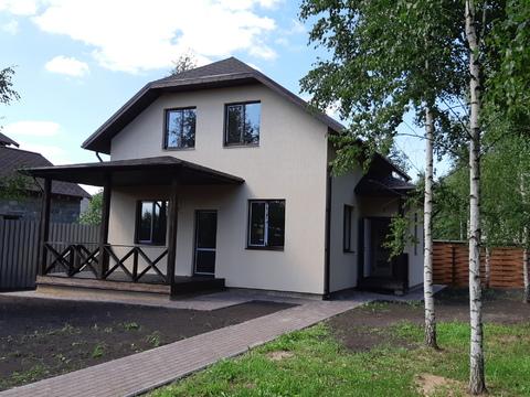 Большое Петровское д, дом 150 кв м. участок 8 соток с лесными дерев - Фото 1