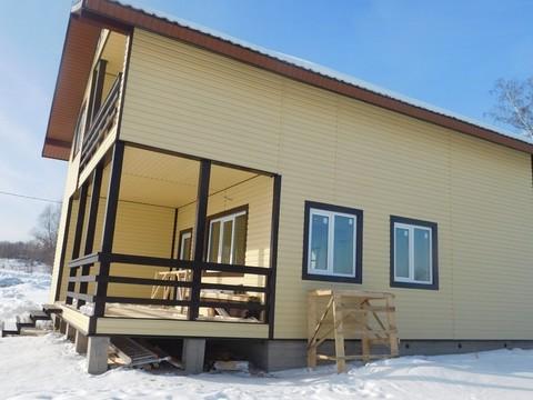 Межозерье. Новый коттедж ( дом ) для ПМЖ в деревне у озера - Фото 4