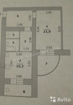 Однокомнатная 64 кв.м. на Б. Юности 41 - Фото 1
