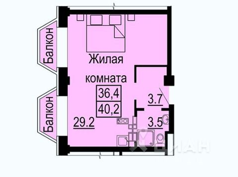 Продажа квартиры, Екатеринбург, м. Ботаническая, Ул. Крестинского - Фото 2