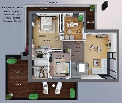 Предлагается жилой дом 388 кв.м. в кп Охта-Йоки - Фото 4