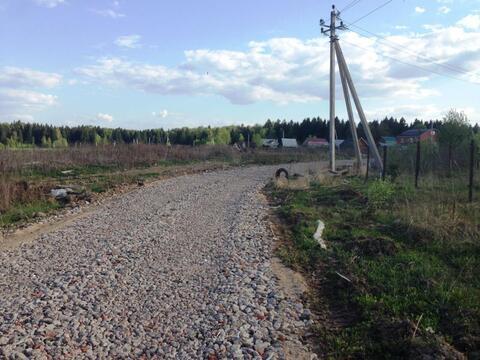 Участок 21 сотка, д.Малое Иванцево, Мытищинский район, 30 км. от МКАД - Фото 1