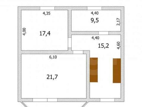 Продажа коттеджа на Ольховой улице в Астрахани, Продажа домов и коттеджей в Астрахани, ID объекта - 502730887 - Фото 1