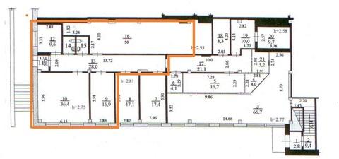 Торговое помещение 154.1м2 по адресу Морской 56 (ном. объекта: 1208)