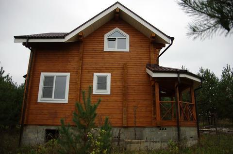 Брусовой дом в кп г. Заокский, 25 сот, газ, вода, охрана - Фото 2