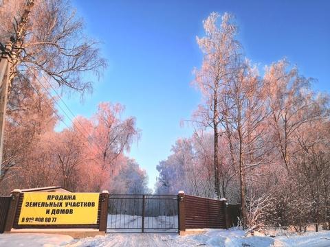 Продаётся участок с лесными деревьями рядом с горнолыжным парком - Фото 1