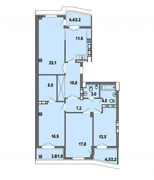 Продажа квартиры, Краснодар, Курортный проезд - Фото 1
