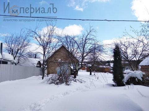 Участок с газом по границе в черте Обнинска - Фото 1