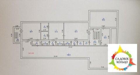 Осз, Под офис, 3-х эт. + цоколь, раб. сост. /под отделку, выс. потолка - Фото 2