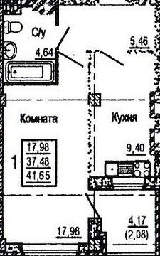 Продаю. 1-к квартиру зжм/Левенцовка/ЖК Николаевский - Фото 5