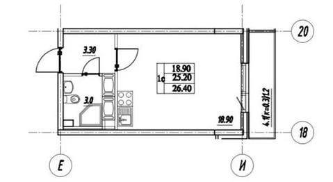 Объявление №53759023: Продаю 1 комн. квартиру. Шушары, улица Валдайская, 4,