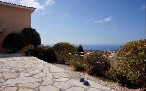 Прекрасный трехкомнатный Дом с видом на море в пригороде Пафоса - Фото 5