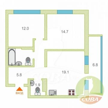 Продажа квартиры, Тюмень, Обдорская - Фото 1