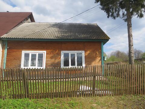 Продам дом из бревна 40 м2 в с. Истомино, Калужской обл, Тарусского р. - Фото 1