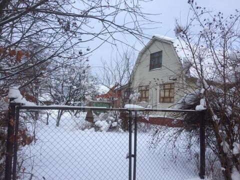 Дом из бруса 100 м2 с ровным прямоугольным участком 12 соток в СНТ . - Фото 1