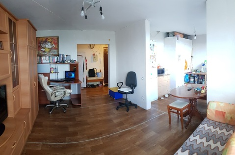 Продажа 2-х уровневой квартиры в моноли-кирпич доме. Нахабино. 5 мин. - Фото 3