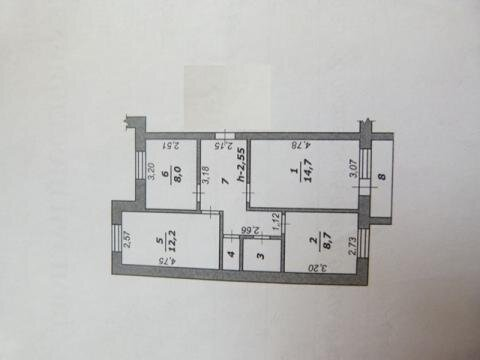3-х комнатная квартира в пос. Майский - Фото 3