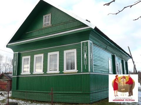 Дом с баней в д.Дворищи Маловишерского р-на - Фото 1