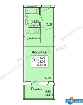 Продажа квартиры, Киров, Луговой пер. - Фото 1