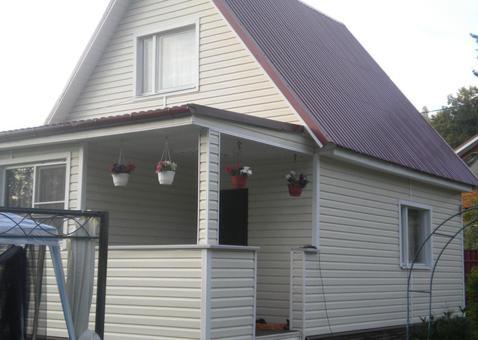 Продается 2х этажная дача 80 кв.м. на участке 6 соток - Фото 2