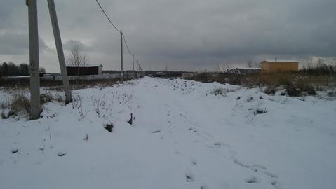 Алферово д, Чеховский район 60 км от МКАД, участок 25 соток - Фото 4