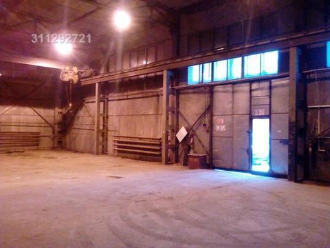 Склад отапливаемый, большие ворота под грузовой транспорт, кран-балка. - Фото 4