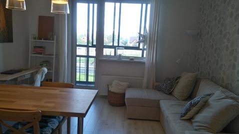 Квартира студия 37кв.м. в Скандинавском стиле в Пушкине - Фото 3