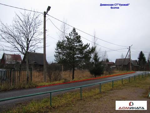 Продам участок 6 соток ст Урожай , Дивенская , Ленинградская область - Фото 1