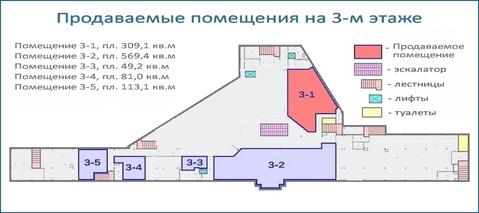 Помещение 309 кв.м в тоц в центре Красногорска, 6 км от МКАД - Фото 5