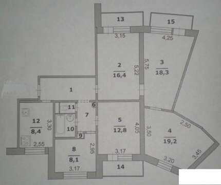 Продажа квартиры, Белгород, Ул. Левобережная - Фото 1
