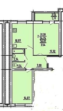 Продается 2- комнатная квартира по ул. Тернопольская, 4 строение - Фото 3