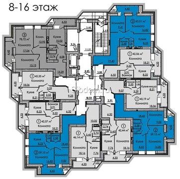 Шикарная квартира в кирпичном доме - Фото 1