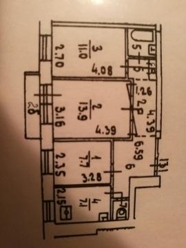 Продажа трёхкомнатной квартиры 1-ая Фрунзенская улица д. 6 - Фото 4