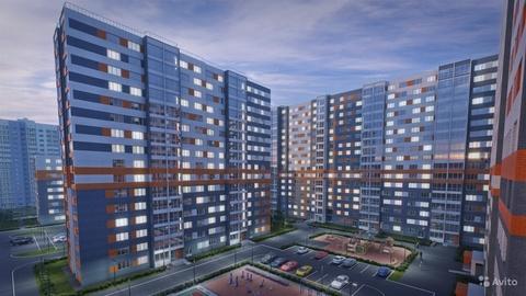 Просторная квартира в новом ЖК Норвежский квартал! - Фото 3