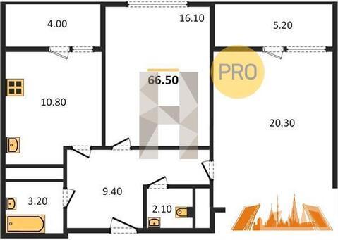 Продажа квартиры, Балашиха, Балашиха г. о, Улица Дёмин Луг - Фото 1