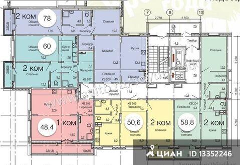 Продаю2комнатнуюквартиру, Барнаул, проспект Энергетиков, 28, Купить квартиру в Барнауле по недорогой цене, ID объекта - 321927852 - Фото 1