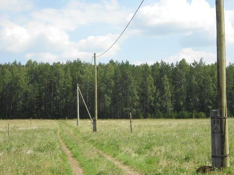 Зем. участок 10 соток, дл дачного строительства, с. Малобрусянское - Фото 2