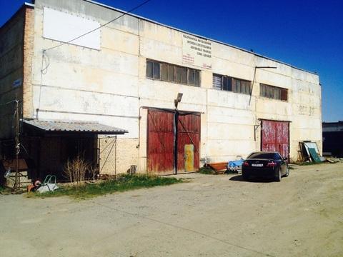 Продается производственное здание с земельным участком - Фото 1